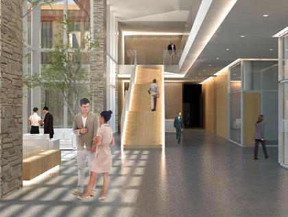 Edificio direzionale a bologna macro design studio for Uffici arredati bologna