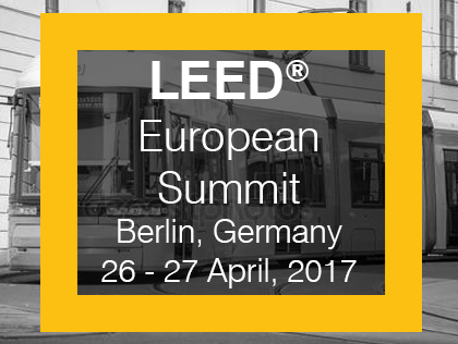 The LEED European Summit 2017 in Berlin