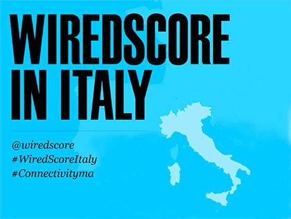 WiredScore launches in Italy
